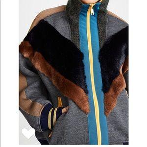 Kolor oversized zip cardigan / jacket